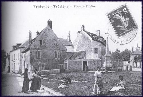 Fontenay tr signy hier et aujourd 39 hui for Piscine de fontenay tresigny
