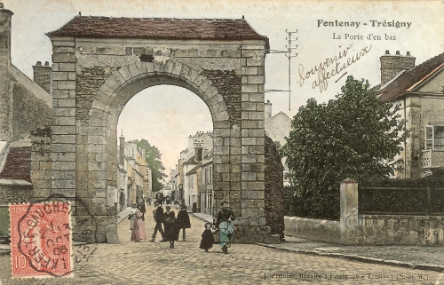 Petite histoire de fontenay tr signy for Piscine de fontenay tresigny